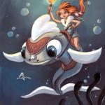 La cavalière des mers
